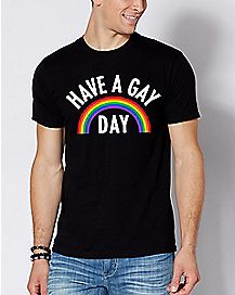Rainbow Have A Gay Day T Shirt