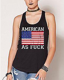 American As Fuck Tank Top