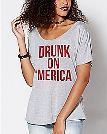 Drunk On 'Merica T Shirt