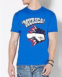 Blue Punch 'Murica T Shirt
