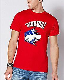 Red Punch 'Murica T Shirt