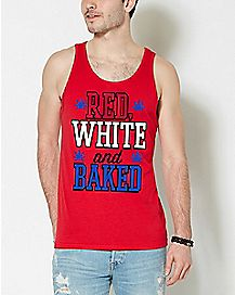 Red White and Baked Tank Top
