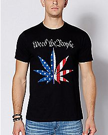 Weed The People Americana Pot Leaf T Shirt