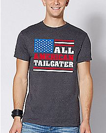 All American Tailgater T Shirt