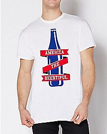 America The Beertiful T Shirt