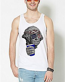 Cheers Beer George Washington Tank Top