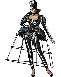 Adult Skeleton Queen Costume - The Signature Collection
