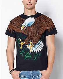 2-Sided Eagle T Shirt