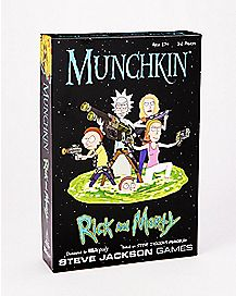 Munchkin Rick And Morty Game