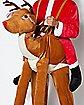 Adult Reindeer Piggyback Costume