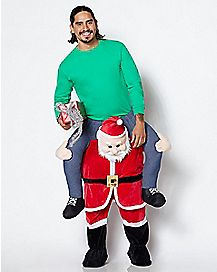 Adult Santa Piggyback Costume