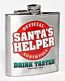 Santa's Helper Flask - 8 oz.