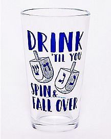 Drink 'Til You Spin Pint Glass - 16 oz.
