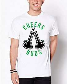 Bong Cheers Buds T Shirt