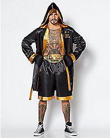 Men World Champion Boxer Costume