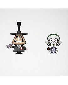 The Mayor and Barrel Vynl. Funko Figures 2 Pack - The Nightmare Before Christmas