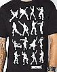Adult Dance Dance T Shirt - Fortnite