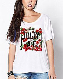 Floral Jolly AF T Shirt