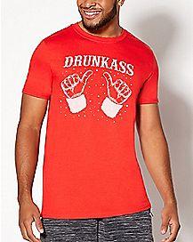Drunkass Christmas T Shirt