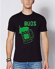 Shamrock Buds T Shirt