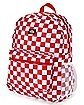Red Checkered Backpack - Dickies