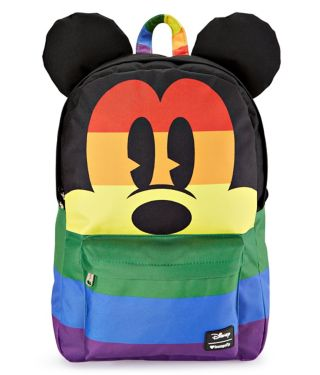 Rainbow Mickey Mouse Backpack