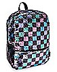 Checkered Magic Sequin Backpack