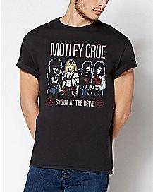 Shout At The Devil Motley Crue T Shirt