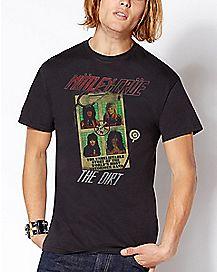 The Dirt Group Motley Crue T Shirt
