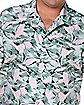 Hopper Button Down Plus Size Shirt - Stranger Things