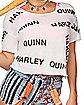 Distressed Harley Quinn T Shirt - Birds of Prey