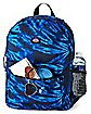Black and Blue Tie Dye Backpack - Dickies