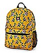 Mustard Floral Backpack - Dickies
