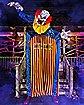 10 Ft. Looming Clown Animatronic - Decorations