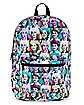 Neon Golden Girls Backpack