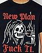 New Plan Reaper T Shirt