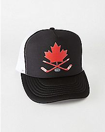 Hockey Stick Canada Trucker Hat