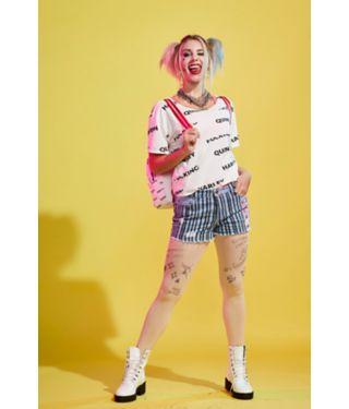 Harley Quinn Birds of Prey All Over Print t shirt