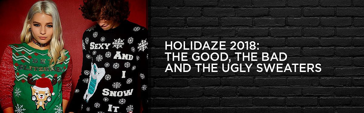 Ugly Christmas Sweater Ideas 2018