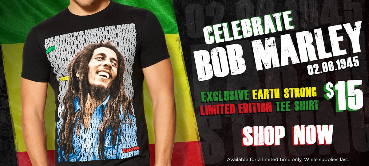 Bob Marley Exclusive Tee