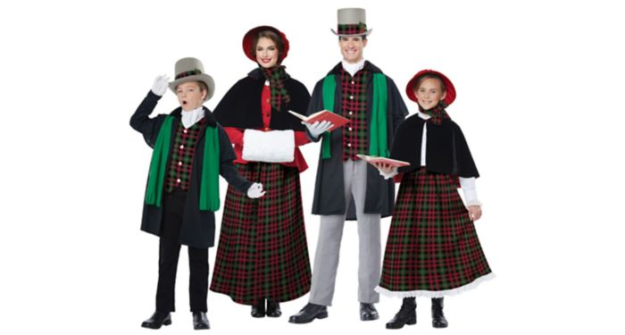 Christmas Caroler Costumes
