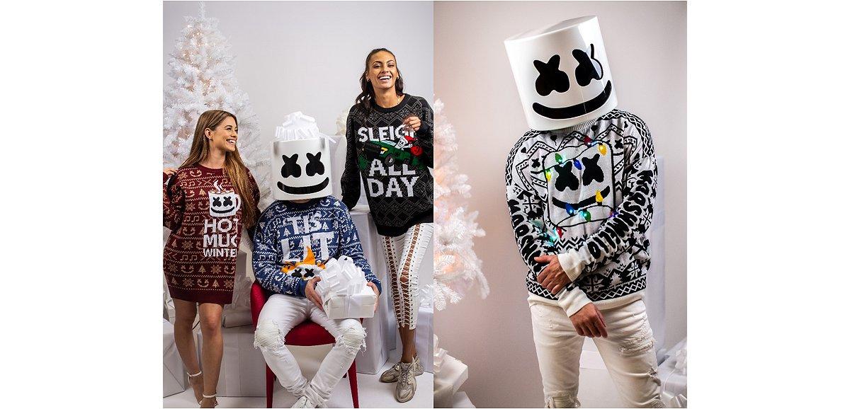 Marshmello Christmas Sweaters