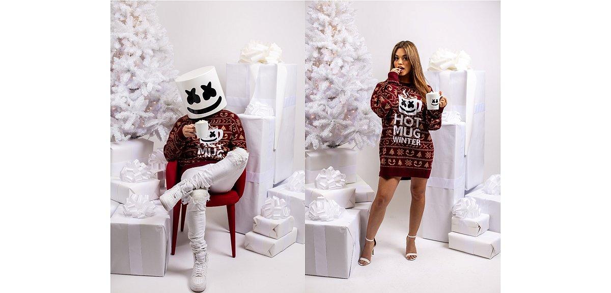 Hot Mug Winter Ugly Christmas Sweater