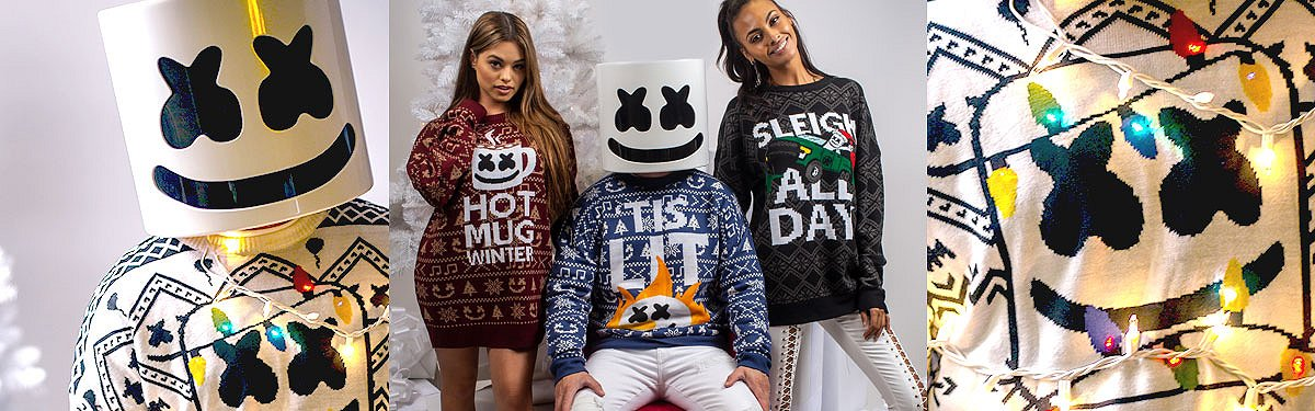 Marshmello Ugly Christmas Sweater Ideas