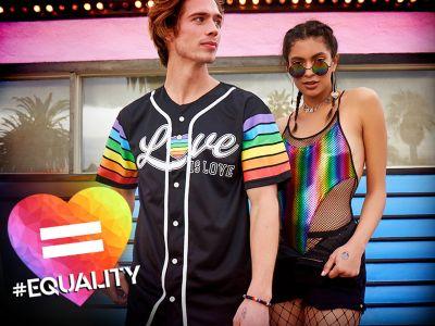 LGBTQ Love is love rainbow pride shirt