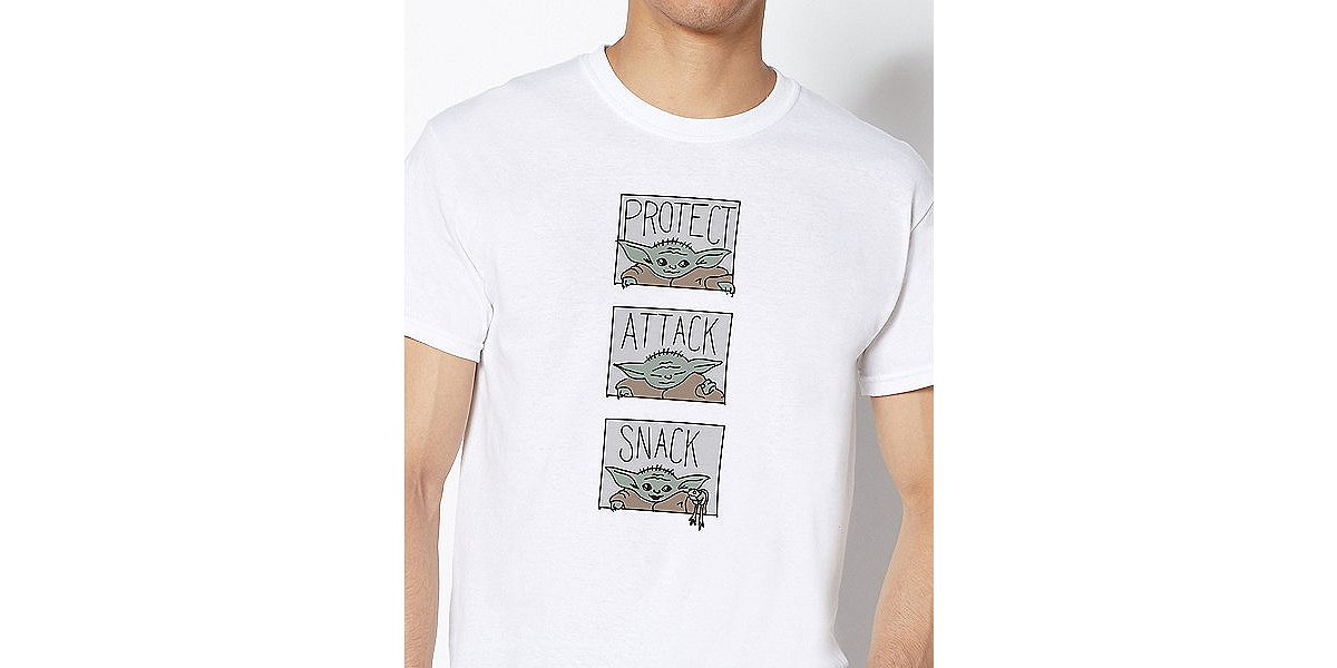 Protect attack snack the child t shirt
