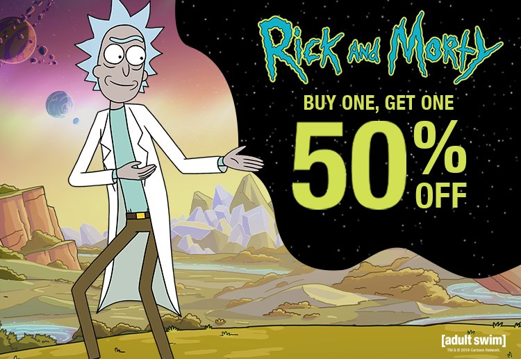 Shop Rick & Morty