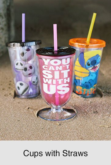 Shop Cups with Straws