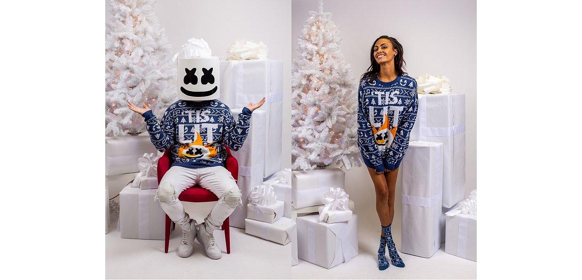 'Tis Lit Ugly Christmas Sweater