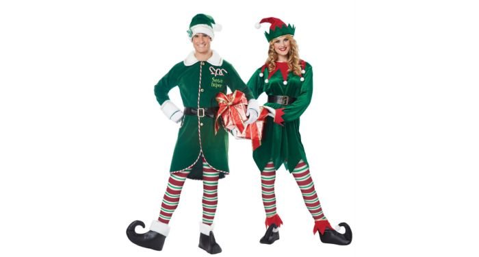 Christmas elf costumes
